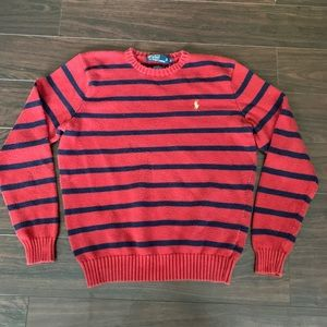 Vintage Polo Ralph Lauren sweater striped cotton